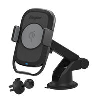Energizer Qi Wireless Charging Grip Mount for Dashboard and Vent