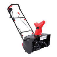 Snow Joe Max 18-Inch 13.5-Amp Electric Snow Thrower with Light in RED